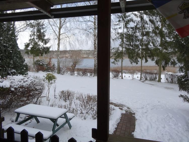 Ihr Seeblick im Winter