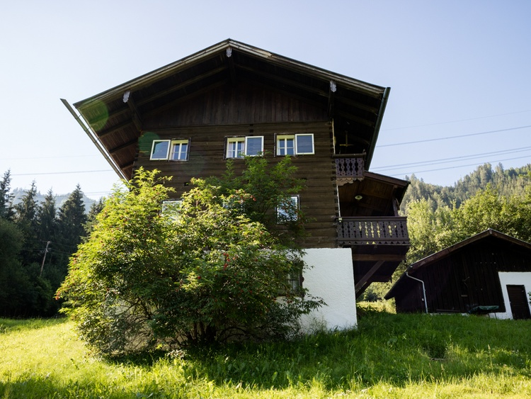 Almhütte in the Summer