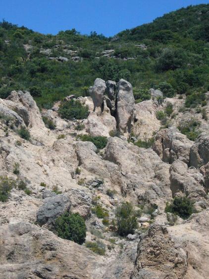 Landschaft zwischen Salasc und Moureze