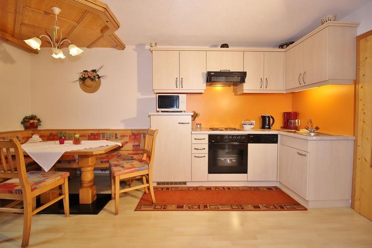 Wohnung Kappl für 6 Personen mit 3 Doppelzimmer