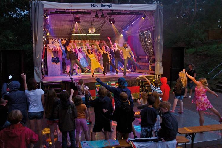 Show-Bühne