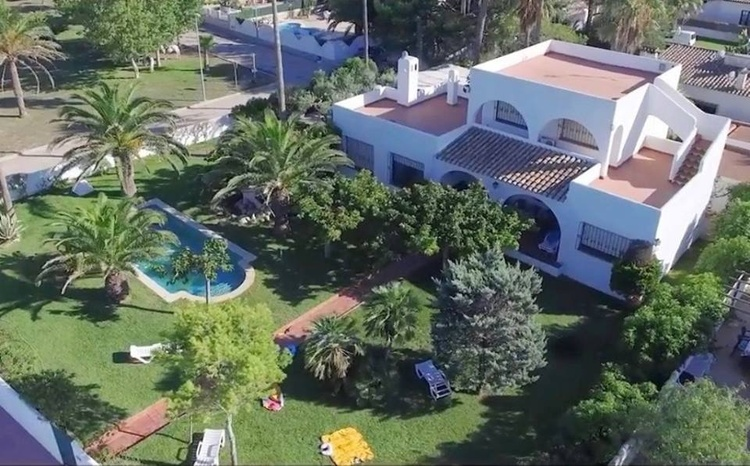 Dream Villa Oasis (300qm) rigt ho nthe beach