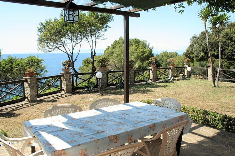 Villa Licosa - Terrasse