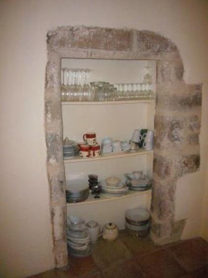 Wohnraum mit integrierter Küche/Essplatz (Detail)