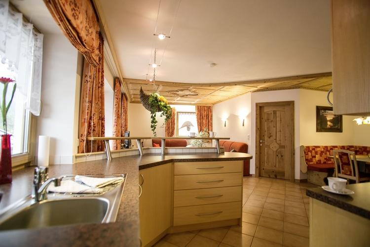 offene Küche in unserer Suite