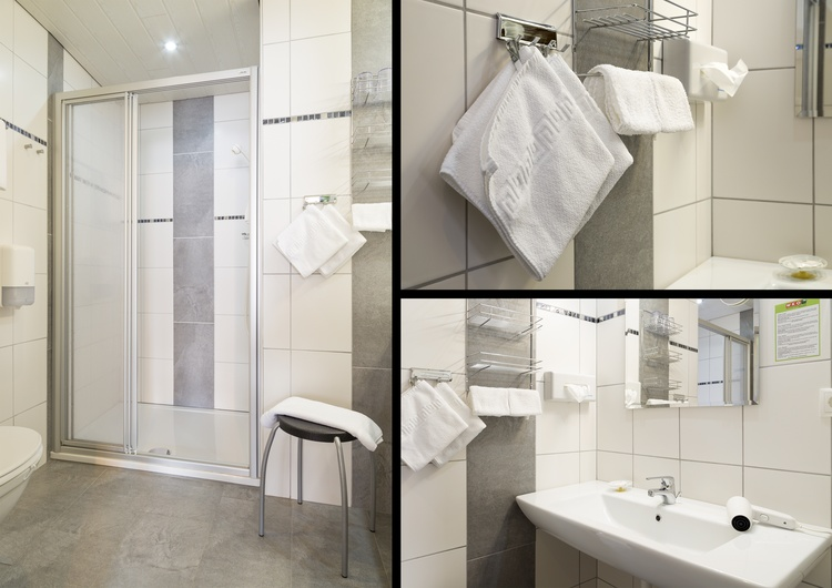 BuB Appartements Glungezer - once of our bath rooms
