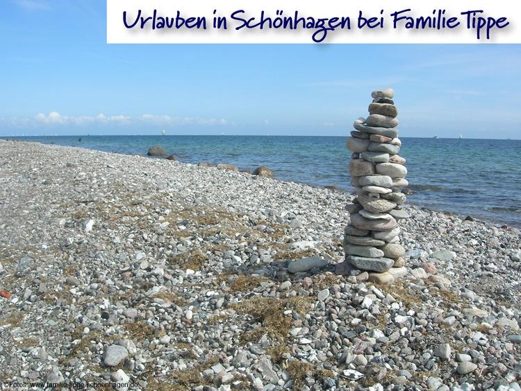 """""""Kunstwerk"""" an der Steilküste"""