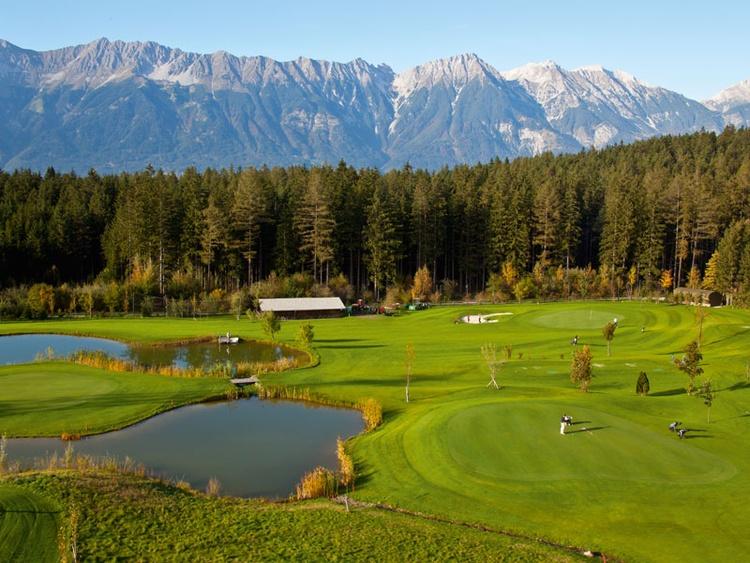 Golfplatz in Igls