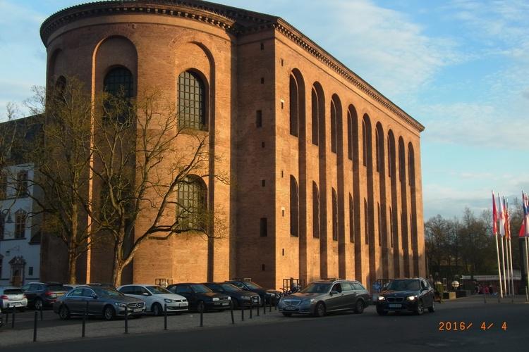 Trier - Basilika - Ehem. Sitz des Kaisers Konstantin