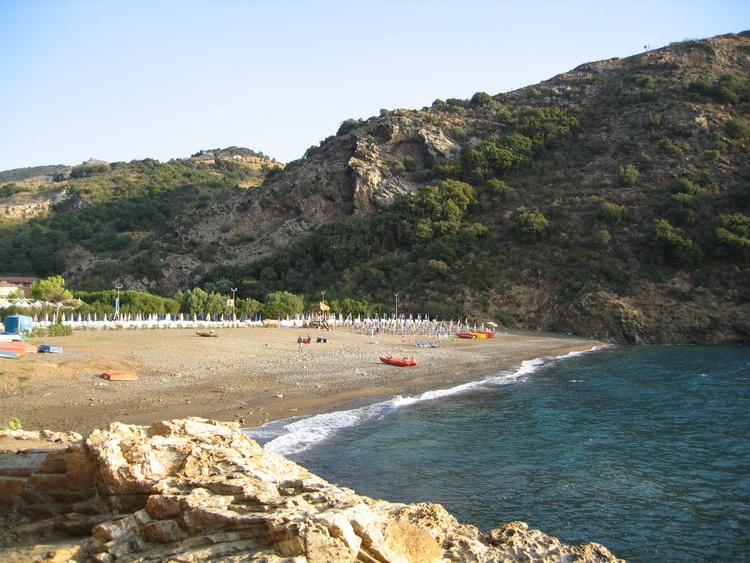 beach ortano mare