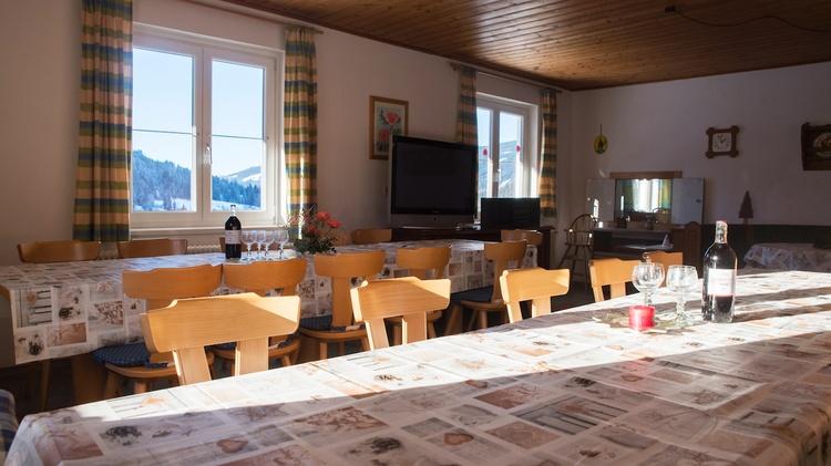 Big living room in the ground floor