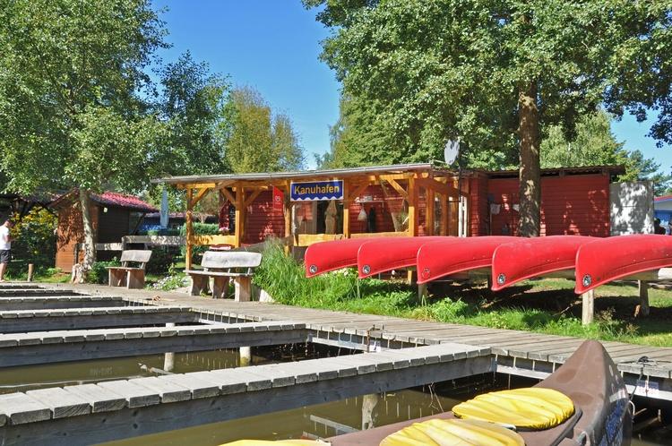 Boat rental and kiosk