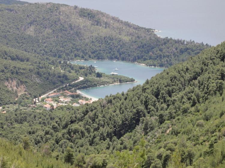 das Herz von Skopelos