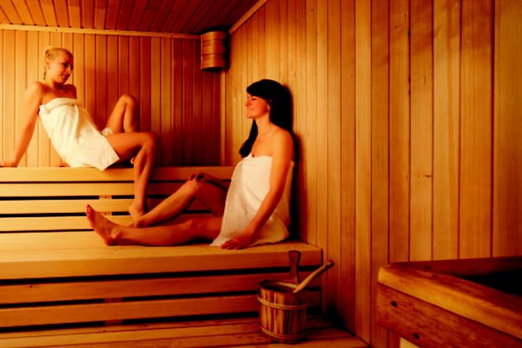 Sauna downstairs