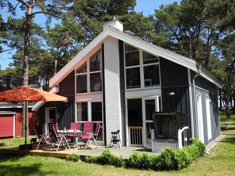 Villa Mar mit Terrasse und Strandkorb