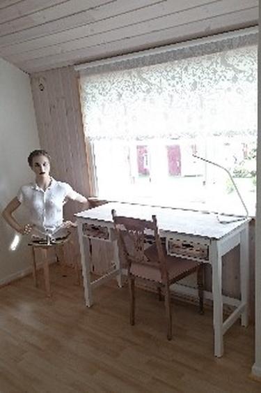 Empore mit Schreibplatz