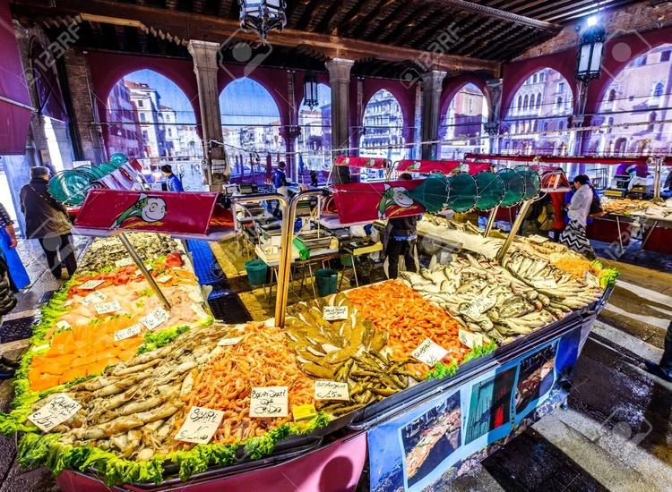 the  Rialto fish market