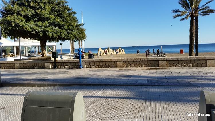 Strandpromenade Malaga