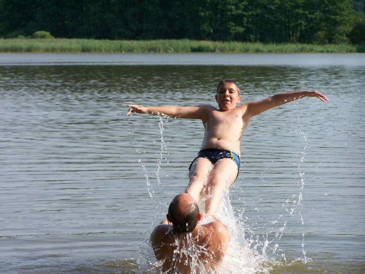Bathing fun in 300 meters: the beautiful lake with three bathing sites and hardly any people