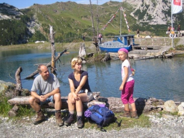 Urlaub, Wandern, Klettern, Natur, Österreich Kärnten Nassfeld See - www.ferienwohnung-plozner.at