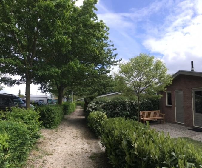Bungalow in Andijk Eingang