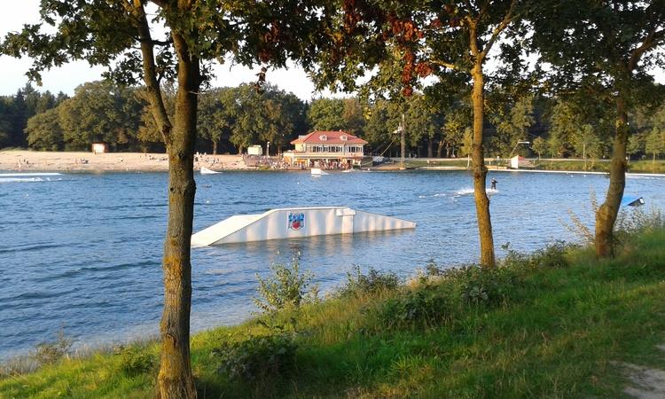 Wasserski am See