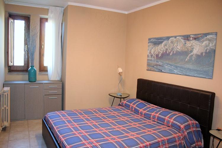 Villa Licosa - Schlafzimmer mit Doppelbett