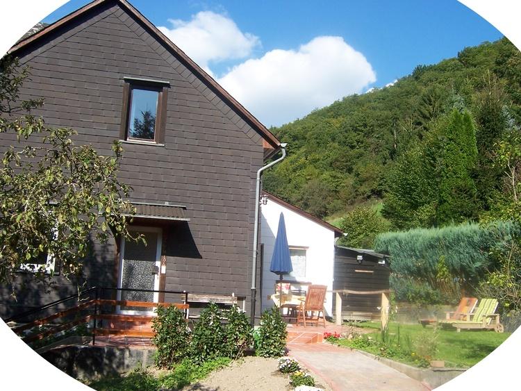 """Das """"Haus am Wald"""" in Sauerthal"""