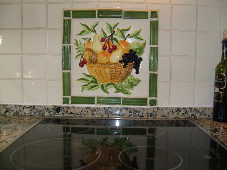 Kitchen Ceramic Mural