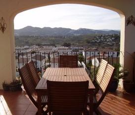holiday villa Viñuela See