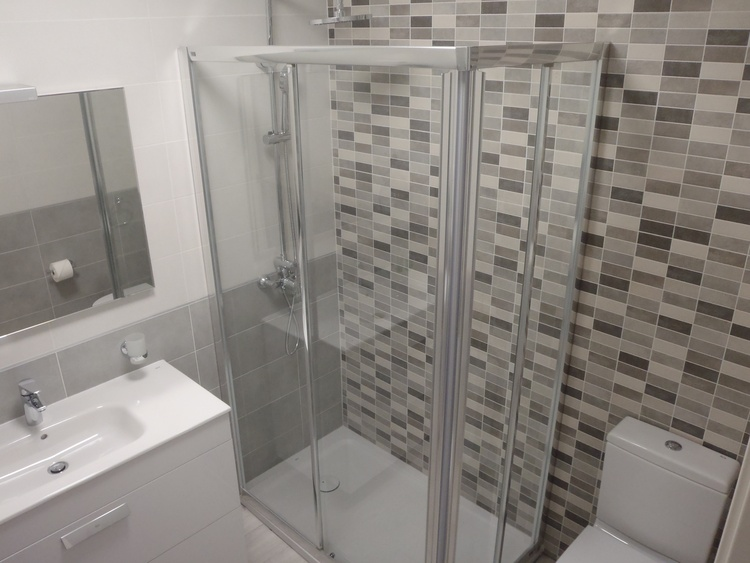 Bathroom, with hair dryer