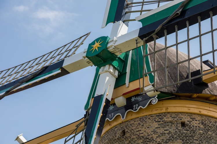 Antique windmill anno 1722