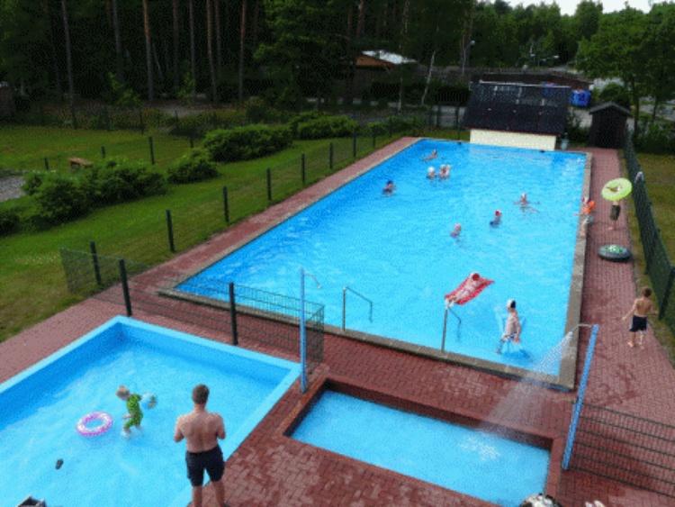 Das Freibad ist von Juni bis Mitte September geöffnet und steht allen Gästen zur Verfügung!