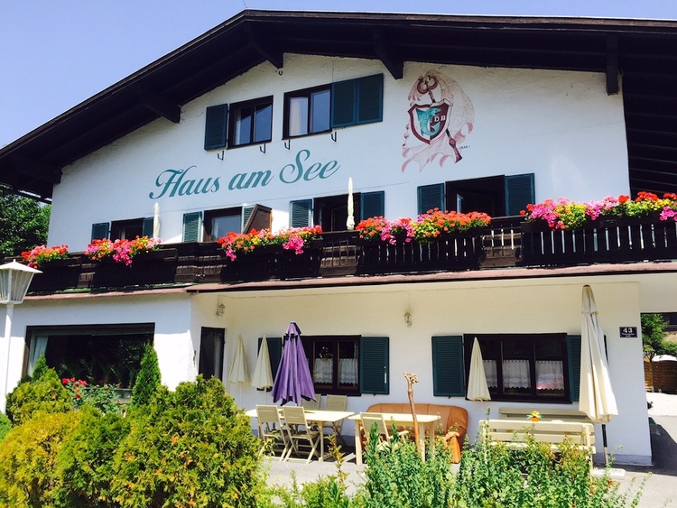 Haus am See in the Summer
