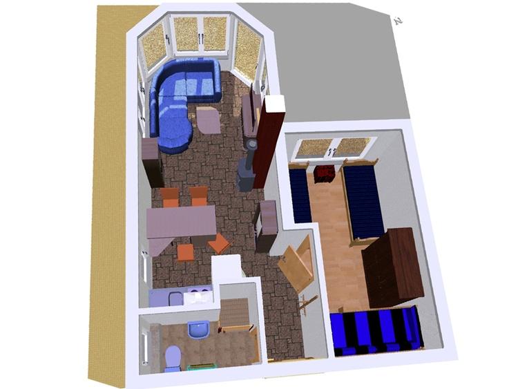 Grundriss Raumaufteilung