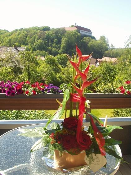 Schloßblick Terrasse