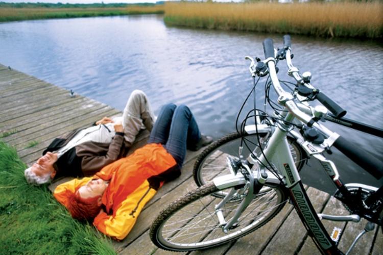 Entschleunigen zu Fuß oder mit dem Fahrrad