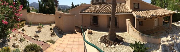 Zugang zur Villa