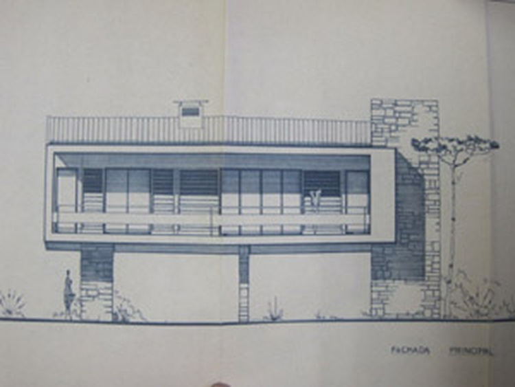 Original building plan