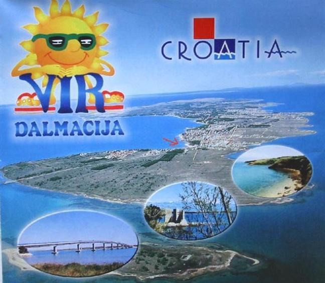 Island Vir Dalmacia - Bridge