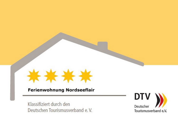 4 Stars Certification  (DTV) - Holiday Room Nordseeflair