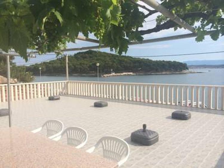 Blick von Balkonen