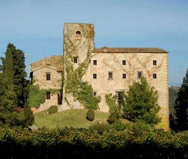 holiday villa Siena