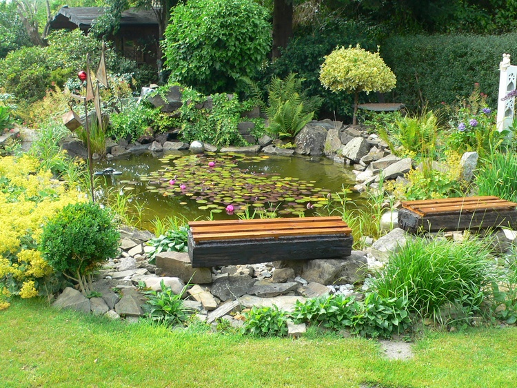 Your seat by the pond