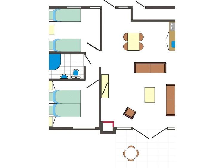 Haus Tops Grundriss