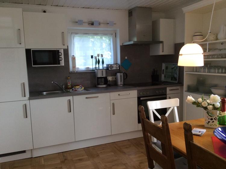 Die neue Küche mit Pütt und Pann