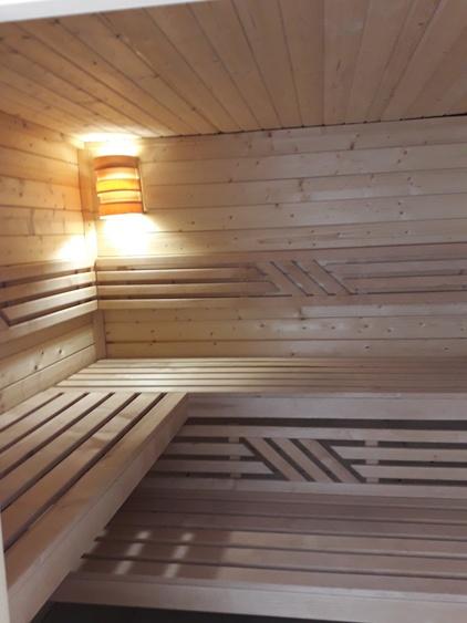 view into sauna