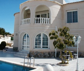 holiday villa Orihuela Costa