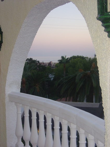 it will be evening - view of the sea