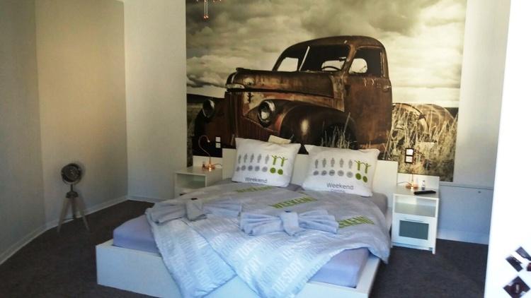Doppelbett im Jugendzimmer 180 x 200
